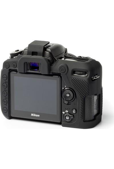 EasyCover Nikon D7500 Silikon Kılıf ECND7500B (Siyah)