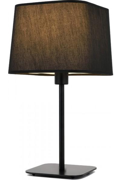 AVONNI HML-9071-1BS Siyah Boyalı Masa Lambası E27 Metal 27x27cm