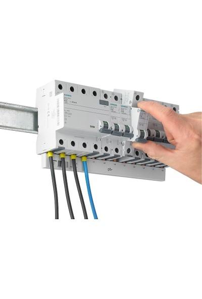 Siemens 5Sl6110-6Ya 1 Fazlı 10 Amper B Tipi (Çabuk Karakterli) 6Ka Otomatik Sigorta
