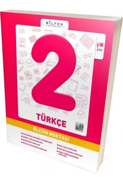 Bilfen 2. Sınıf Türkçe Ölçüm Noktası 2019