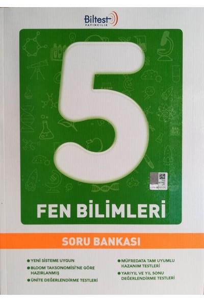 Biltest 5. Sınıf Fen Bilimleri Soru Bankası 2019 Müfredat