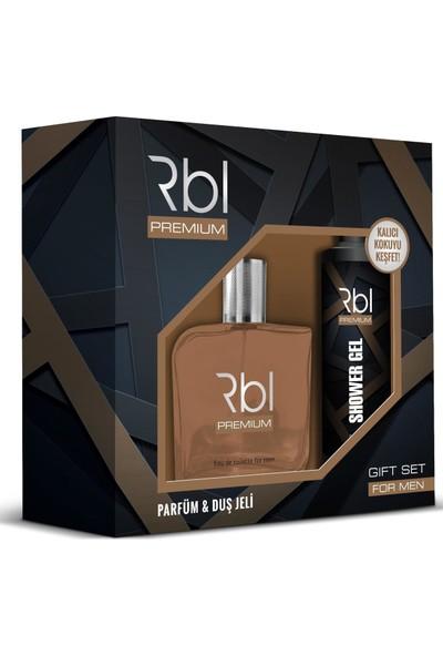 Rebul Premium Erkek EDT 90Ml+Duş Jeli 200Ml