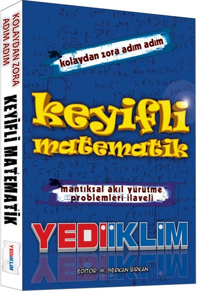 Yediiklim Yayınları KPSS Keyifli Matematik Konu Anlatımlı Yediiklim Yayınları