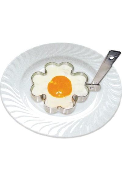 Joy Glass Çiçek Şekilli Yumurta Pişirme Kalıbı