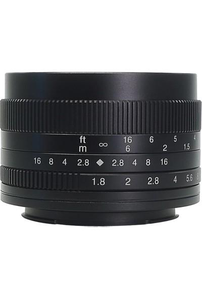 7artisans Sony Uyumlu 7artisans 50mm F1.8 Lens Sony E-Mount