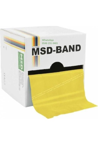 Msd Band 150 Cm, 3'Lü Set, Toplam 450 Cm (4,5 Metre)