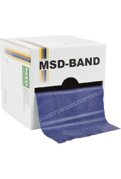 Msd Band 150 Cm, Thera, Egzersiz Ve Pilates Bandı