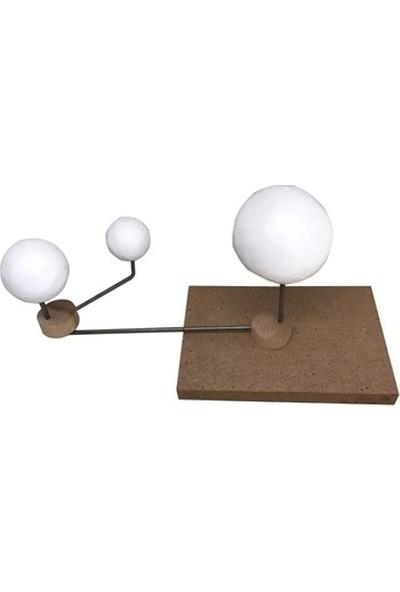 Hobi24 Güneş - Dünya - Ay Modeli