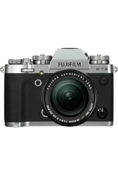 Fujifilm X-T3 Gümüş + Fujifilm XF 18-55MM Kit