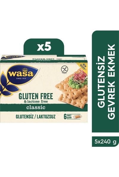 Wasa Glutensiz Gevrek Ekmek / Crispbread Gluten Free (Koli içi 5'li)