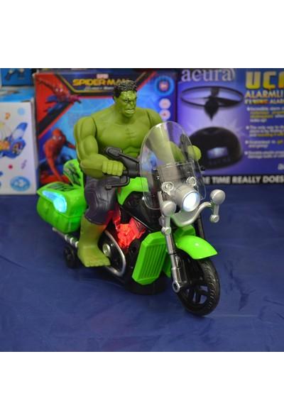 The Avengers Hulk Oyuncak Motosiklet Müzikli Işıklı