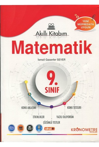 Kronometre 9. Sınıf Matematik Akıllı Kitabım