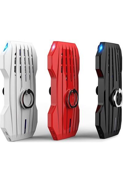 Case 4U Soğutuculu Gaming Powerbank-Oyuncular İçin Taşınabilir Şarj Cihazı Oyun Konsolu - Beyaz