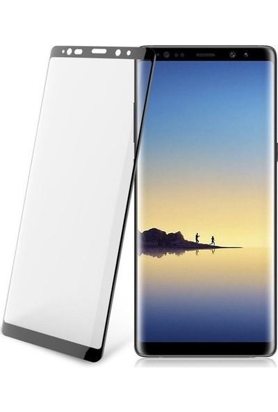 AntDesign 5D Tüm Yüzey Samsung Galaxy Note 8 Cam Ekran Koruyucu Siyah