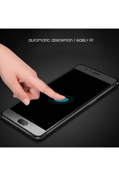 AntDesign 5D Tüm Yüzey Huawei P20 Lite Cam Ekran Koruyucu Siyah