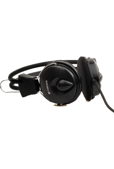 Tigoes T808 Siyah Mikrofonlu Kulaklık