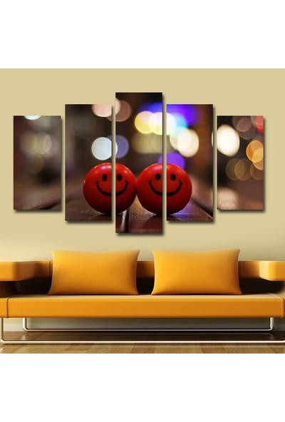 Agf Tablo Şans Topları Dekoratif 5 Parça Mdf Tablo