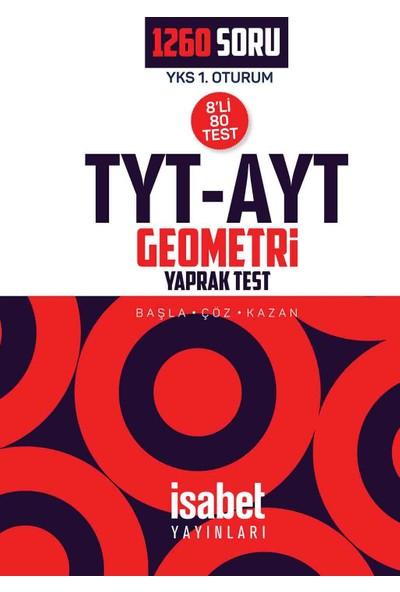 Tyt-Ayt Geometri Yaprak Testler (8'Li) - Yks - İsabet Yayınları