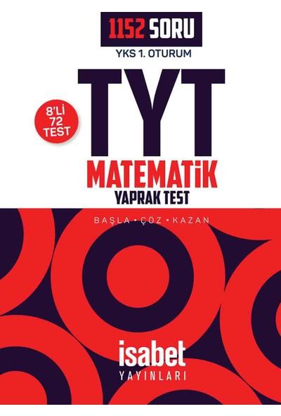 Tyt Matematik Yaprak Testler (8'Li) - Tyt - İsabet Yayınları