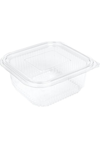 Plastik Sızdırmaz Kap 500 Gr 100 Adet