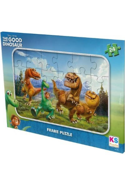 Ks Games- The Good Dinosaur Frame Puzzle 24