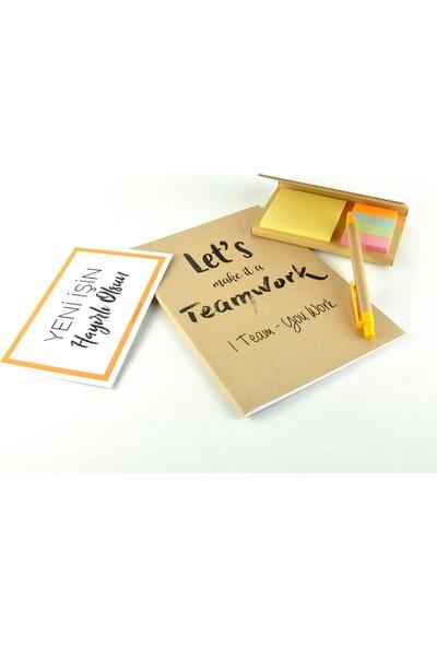 Yeni İş Hediye Kutusu - Kahveli - Life Kupa