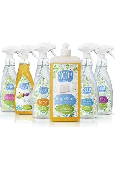 Soop Home Ev Doğal Temizlik Paketi