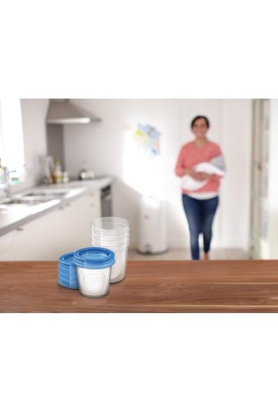 Philips Avent 5'li Anne Sütü Saklama Kapları