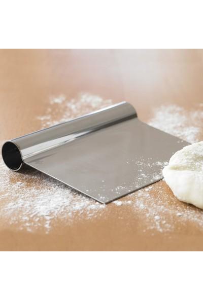 Nar Kalıp Spatula Hamur Kazıyıcı Ve Pasta Sıvama Aparatı 20cm
