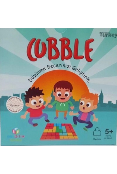 Hobi Eğitim Dünyası Cubble Akıl Ve Zeka Oyunu