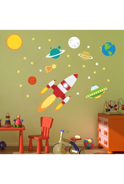 Dekor Loft Uzay Yolu Çocuk Odası Duvar Sticker CS-627