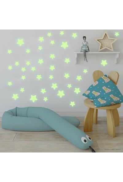 Dekor Loft Gece Parlayan Yıldızlar Sticker Fs-2060