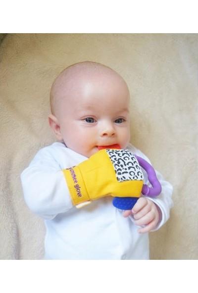 Gummee Glove Diş Kaşıyıcı Eldiven Sarı