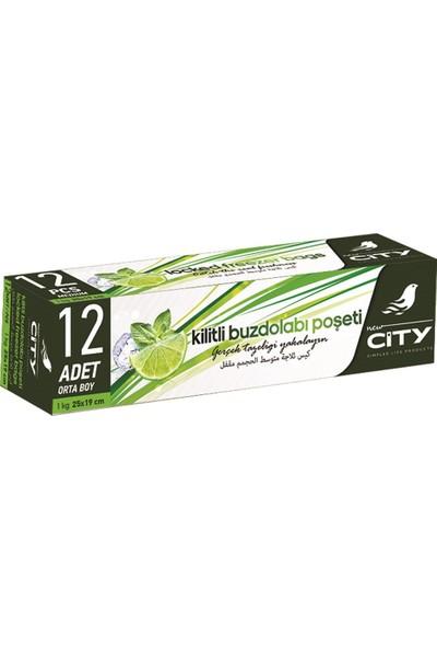 New City Kilitli Buzdolabi Poseti Orta Boy 12 Li