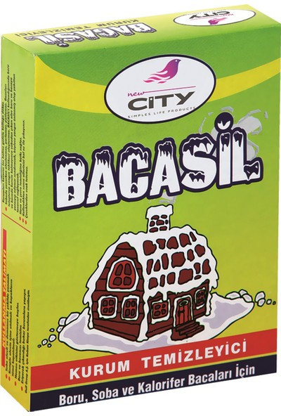New City Bacasil 200 Gr