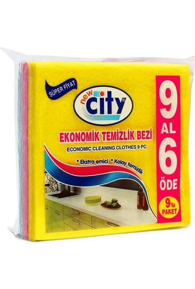 New City Ekonomik Temizlik Bezi 6+3