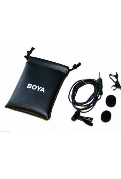 Boya By-Lm10 Profesyonel Telefon Yaka Mikrofonu