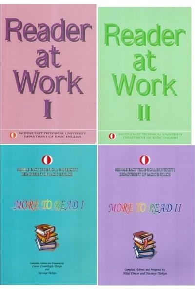 Odtü Metu Reader At Work 1-2 More To Read 1-2 4 Lü Set