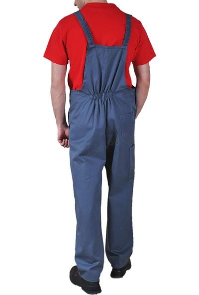 Şensel Askılı Bahçıvan Gabardin İş Tulumu İş Elbisesi