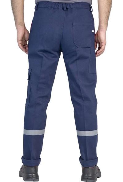 Şensel Kışlık Reflektörlü Komondıo Cepli İş Pantolonu İiş Elbiseleri