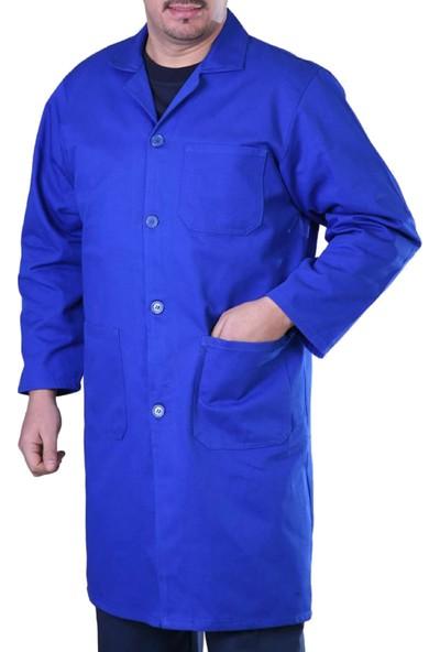 Şensel Erkek İş Önlüğü Gabardin Önük İş Elbisesi