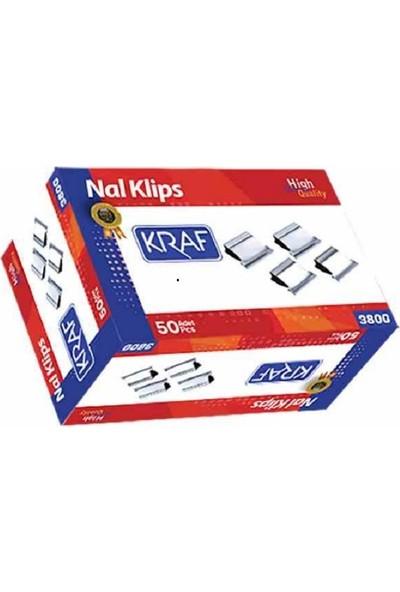 Kraf Nal Klips Yedeği 50 Li Pket
