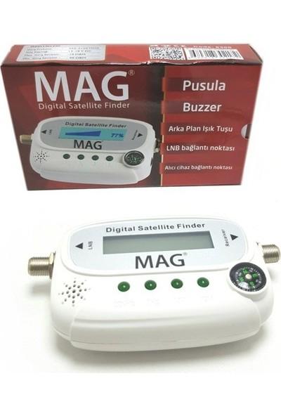 Mag 6300 Lcd Ekranlı Pusulalı Dijital Uydu Bulucu