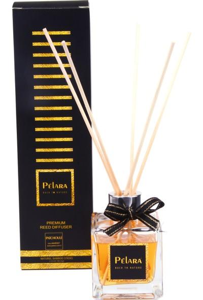 Pelara Yellow Sarı Papatya Natural Bambu Çubuklu Ortam Kokusu Oda