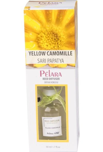 Pelara Sarı Papatya Bambu Ortam Oda Kokusu 50 ml