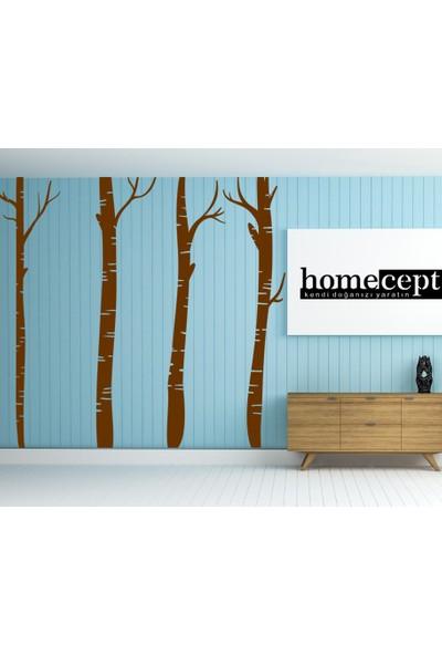 Homecept Agaç Silüetli Büyük Duvar Sticker