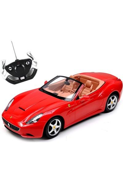 Rastar R/C 1/12 Uzaktan Kumandalı Ferrari California Işıklı Araba - Kırmızı