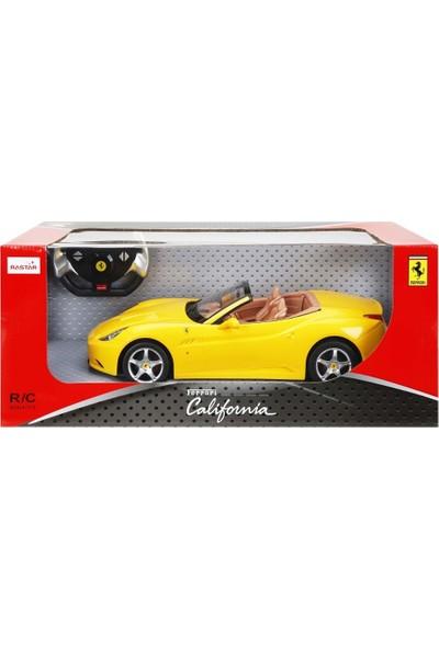 Rastar R/C 1/12 Uzaktan Kumandalı Ferrari California Işıklı Araba - Sarı