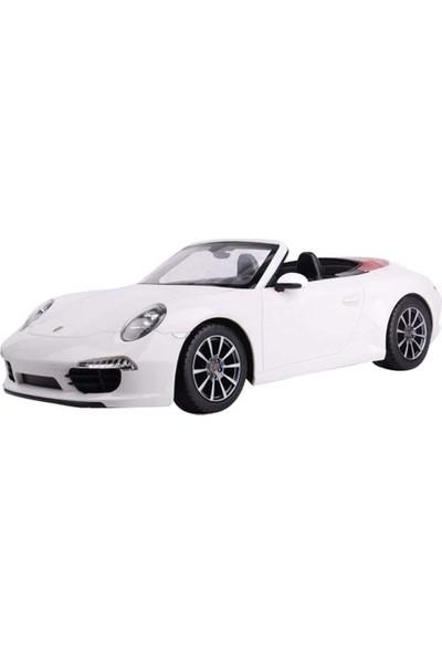 Rastar R/C 1/12 Uzaktan Kumandalı Porsche 911 Carrera S Işıklı Araba - Beyaz