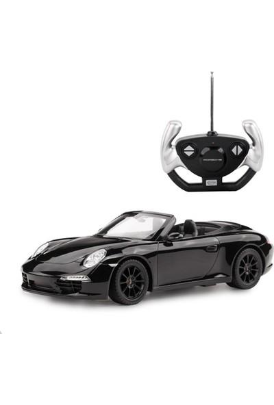 Rastar R/C 1/12 Uzaktan Kumandalı Porsche 911 Carrera S Işıklı Araba - Siyah